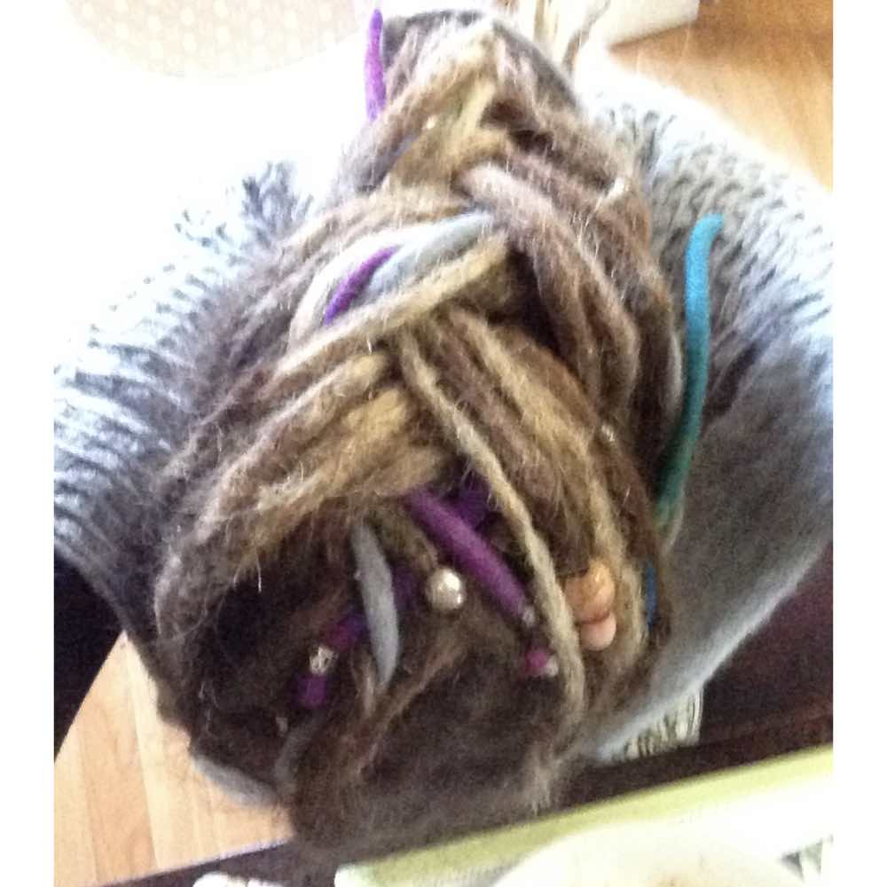 Dreadlock braids, style dreads extension