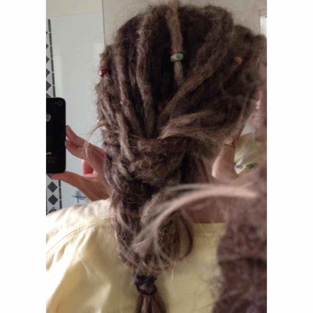 Dreadlock braids, dreadlock braid styles
