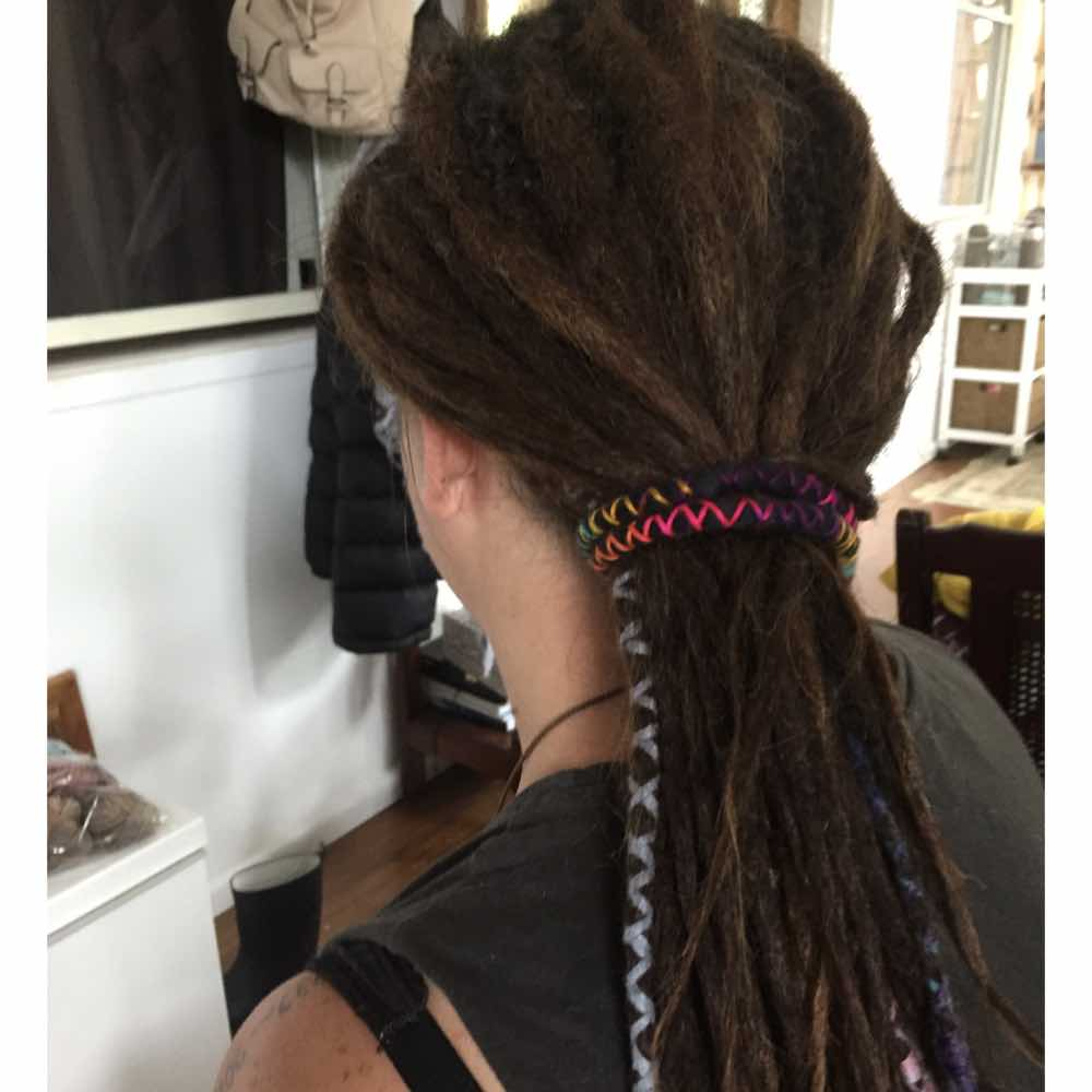 Dreadlock ponytail, quick and easy hairstyles for locs