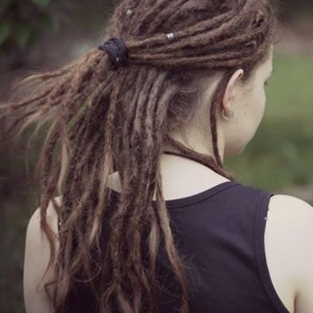 Dreadlocks ponytail, dreadlock ponytail styles
