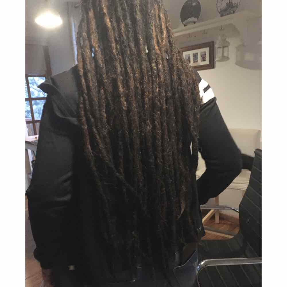 full head of dreads, full dreads, full head dreadlocks, full dreadlocks