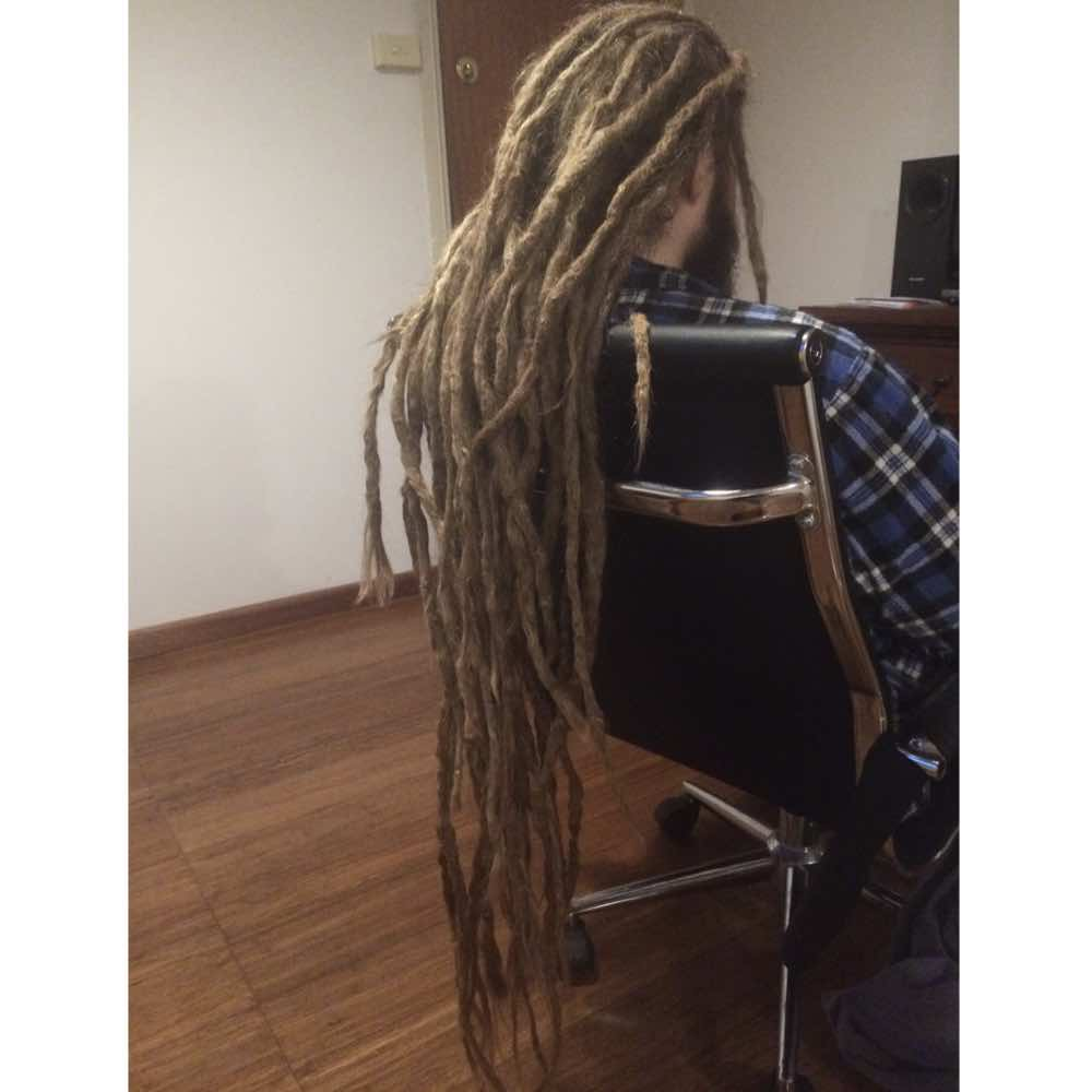dread extensions for guys, hippie dreadlocks, neglect dreads