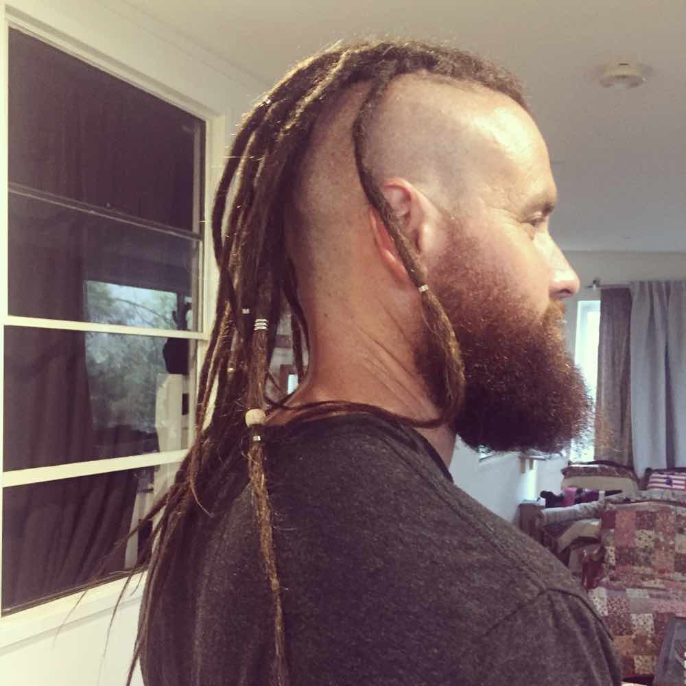 thin dreadlocks, dreads extensions for guys