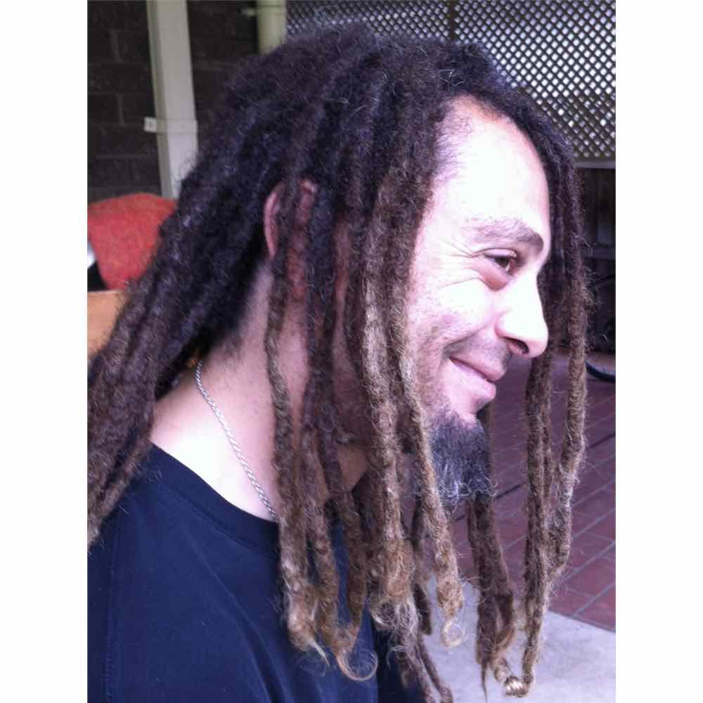 ombre dreads, types of dreadlocks for guys, dreadlock extension