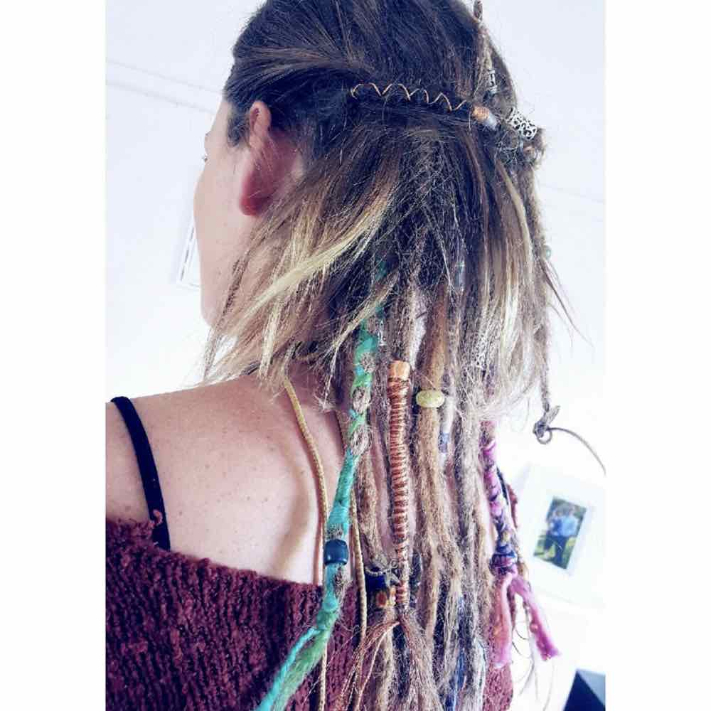 Partial dreads hairstyles, under dreads