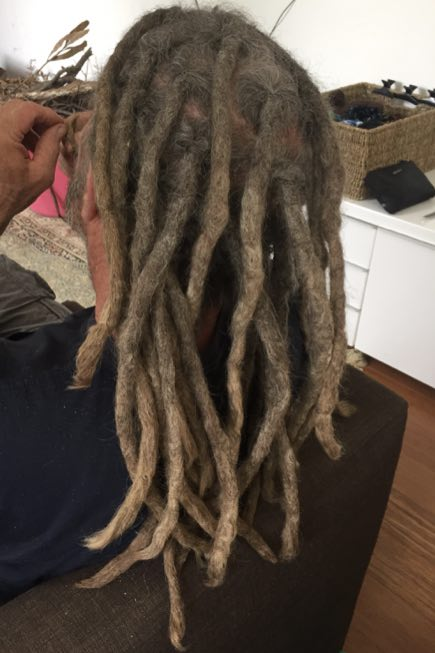 caucasian dreadlock maintenance