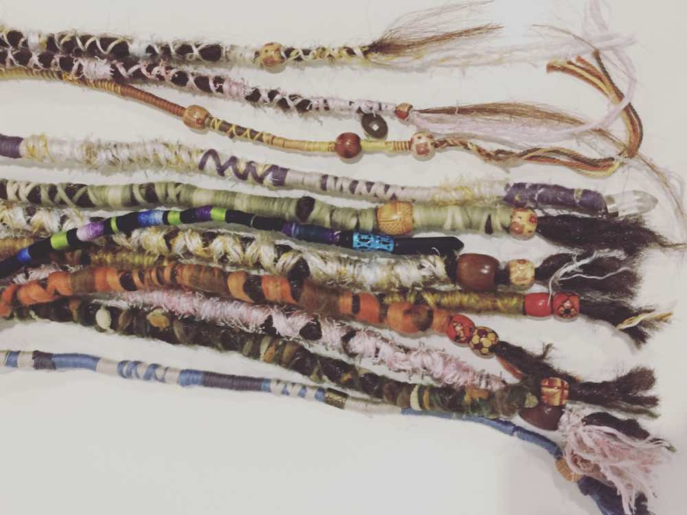 Choose your own dread accessories colour & style on the day or go with one of our pre-made ones.