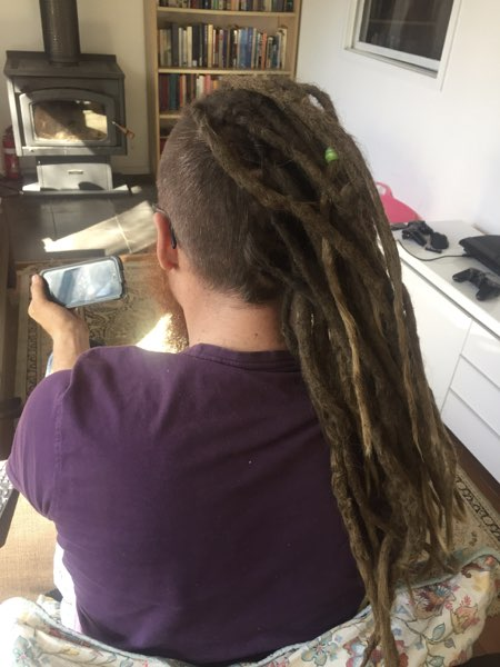 Dreadlock Extensions for Men