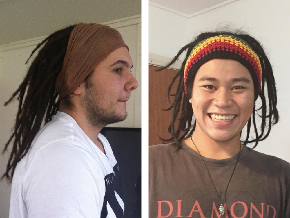 Dreadlock hair accessories - Rasta colours or more subtle ones...so many choices!