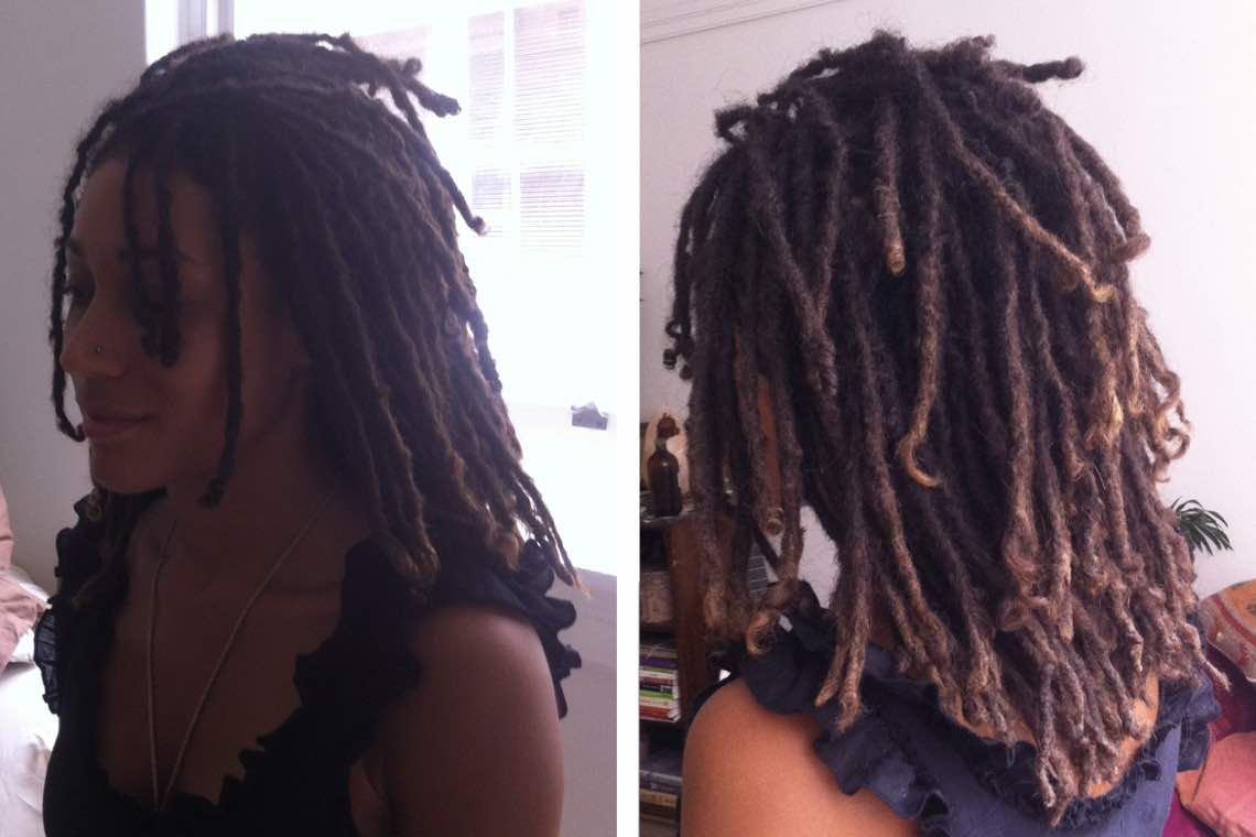 Thin dreads mean more to maintain but they particularly suit certain hair types