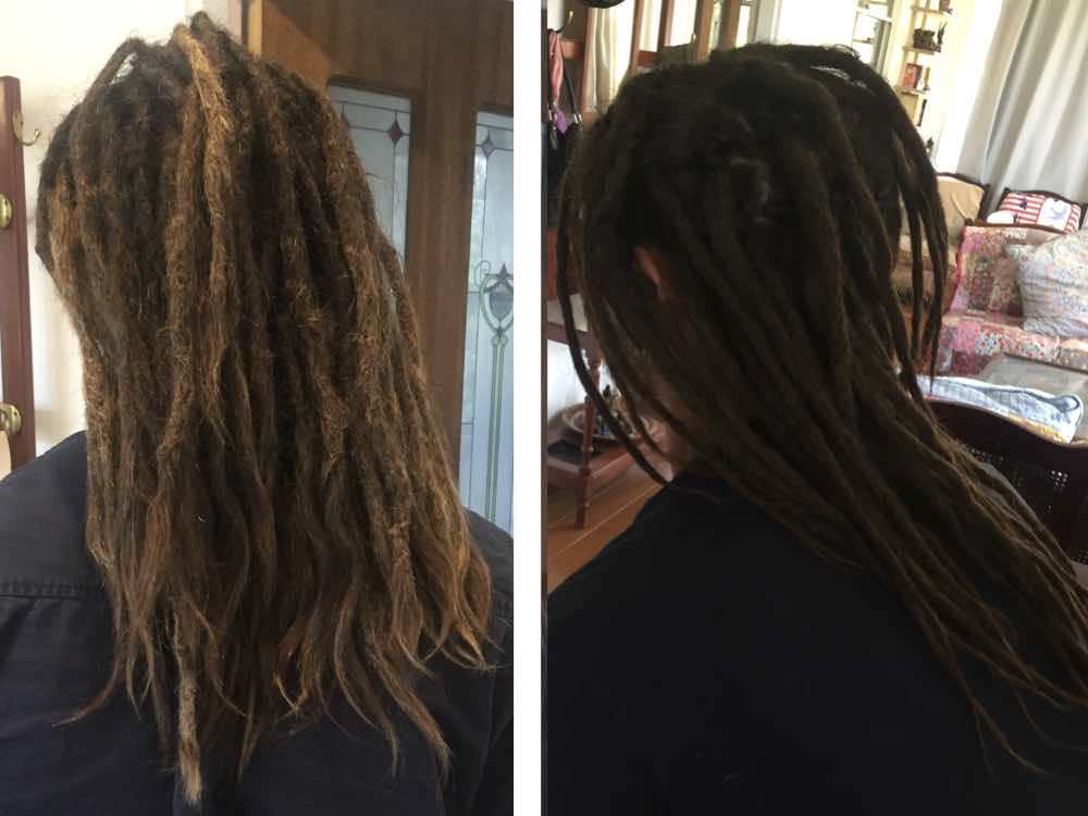 The passing of time and regular maintenance sessions...perfect recipe for great locs.