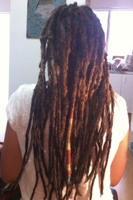Nothing like getting your locs tightened