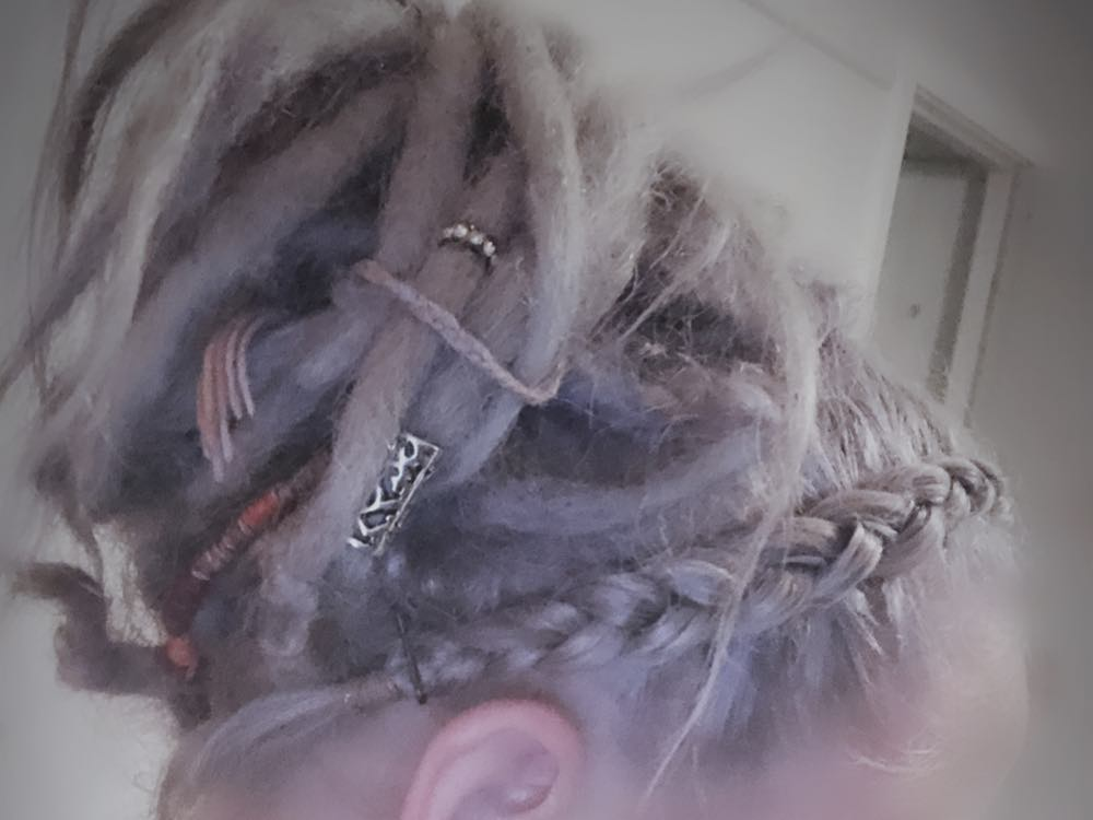 partial dreads hairstyles