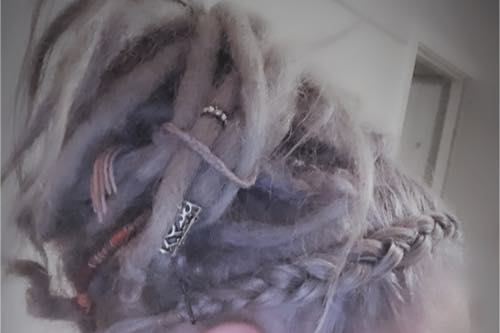 Upstyling Dreadlocks
